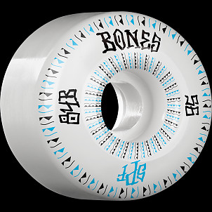 BONES WHEELS SPF Linears Skateboard Wheels 84B Fatties 56mm 4pk White