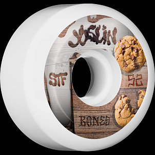 BONES WHEELS STF Pro Joslin Cookies Skateboard Wheels Sidecuts 52mm 4pk