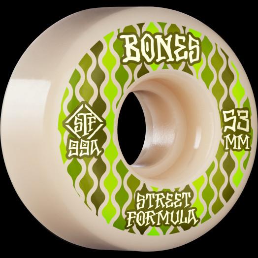 BONES WHEELS STF Skateboard Wheels Retros 53 V2 Locks 99A 4pk