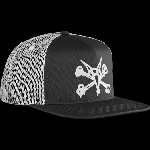 BONES WHEELS Cap Puff Black/White