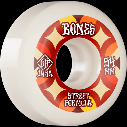 BONES WHEELS STF Skateboard Wheels Retros 54 V5 Sidecut 103A 4pk
