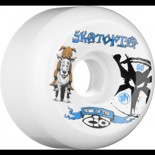 BONES WHEELS STF Skatopia Style 60mm (4 pack)