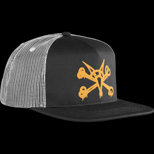 BONES WHEELS Cap Puff Black/Gold
