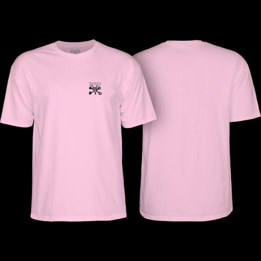 BONES WHEELS Chester T-shirt Pink