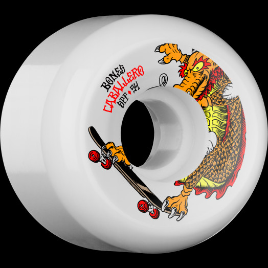 BONES WHEELS SPF Pro Caballero Dragon 54x31 P5 Skateboard Wheels 84B 4pk