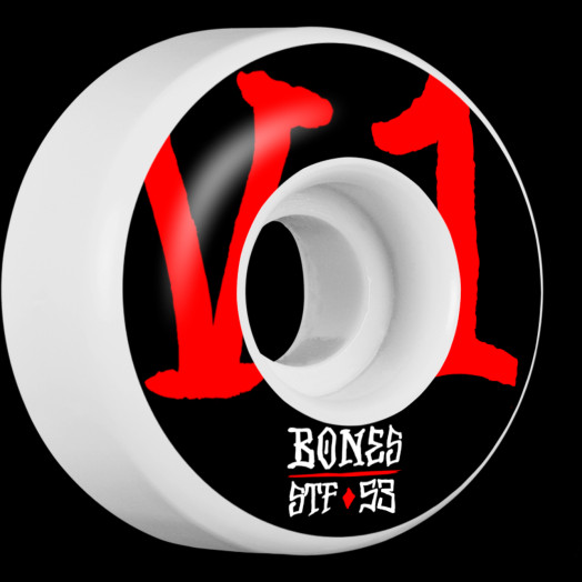 BONES WHEELS STF Annuals Skateboard Wheel V1 53mm 103A 4pk
