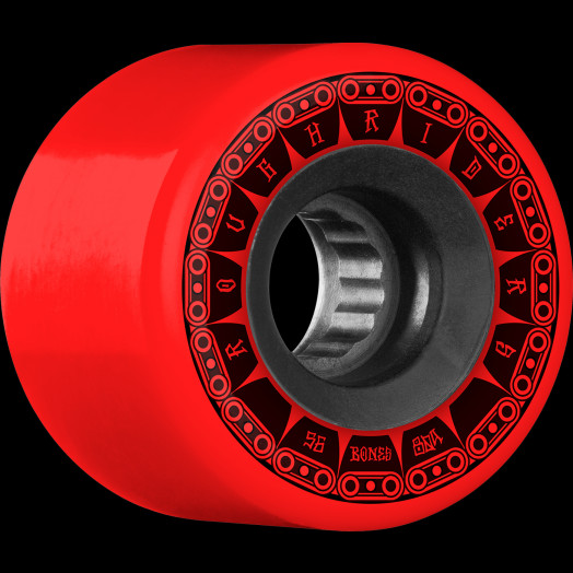 BONES WHEELS ATF Rough Rider Tank Skateboard Wheels 56mm 80a 4pk Red