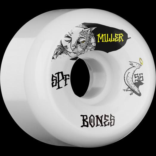BONES SPF Pro Miller Guilty Cat 56x32 P5 Skateboard Wheel 84B 4pk