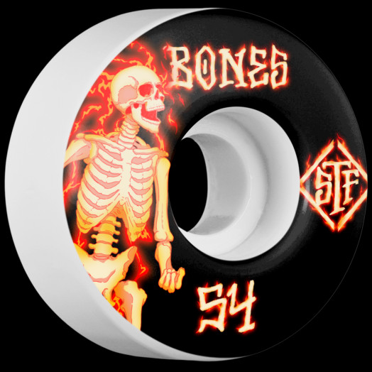 BONES WHEELS STF Blazer Skateboard Wheels V1 54mm 103A 4pk