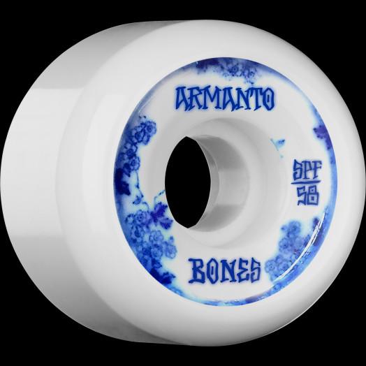 BONES WHEELS SPF Pro Armanto Blue China Skateboard Wheels P5 58mm 104A 4pk