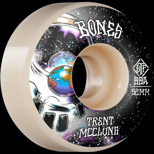 BONES WHEELS PRO STF Skateboard Wheels Trent McClung Unknown 52mm V1 Standard 99A 4pk