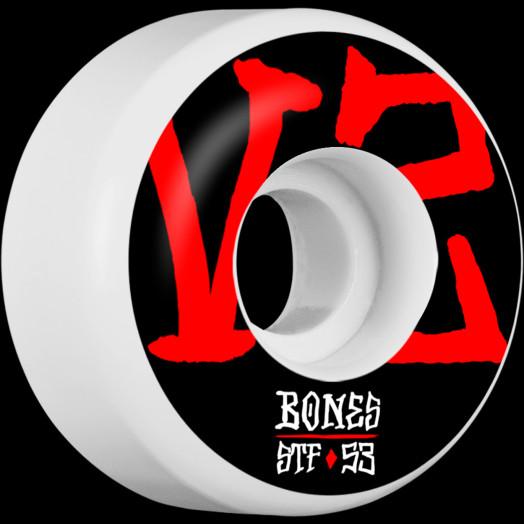 BONES WHEELS STF Annuals Skateboard Wheels V2 53mm 103A 4pk