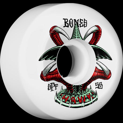 BONES WHEELS SPF Pro Tony Hawk Talon Skateboard Wheels P5 Sidecut 58mm 104A 4pk