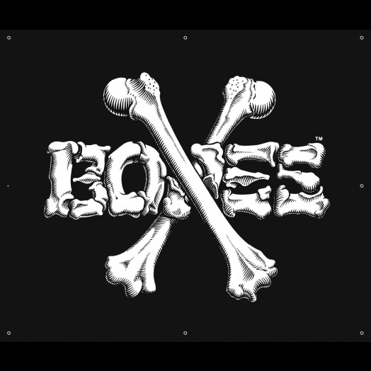 BONES WHEELS BW Cross Banner 30 x 36