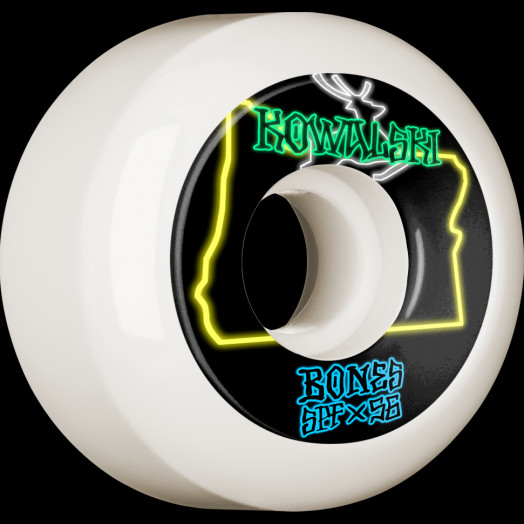 BONES WHEELS PRO SPF Skateboard Wheels Kowalski Homeland 56mm P5 Sidecut 84B 4pk