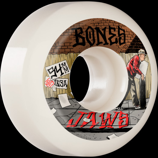 BONES WHEELS PRO STF Skateboard Wheels Homoki Down 4 Life 54mm V5 Sidecut 103A 4pk