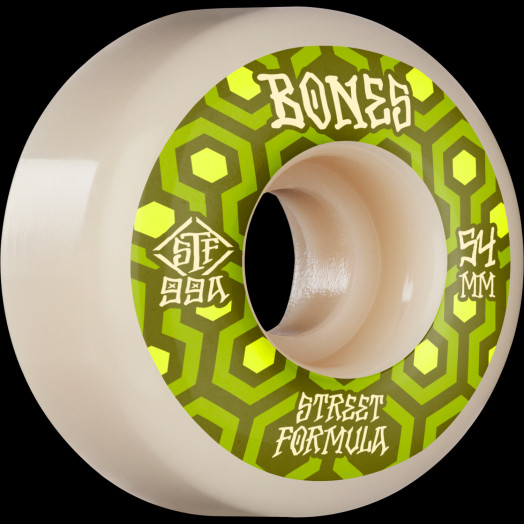 BONES WHEELS STF Skateboard Wheels Retros 54 V1 Standard 99A 4pk