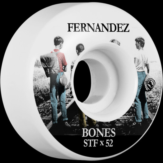 BONES WHEELS STF Pro Fernandez Con Amigos Skateboard Wheels V1 Standard 52mm 103A 4pk