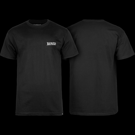 BONES WHEELS Micro T-shirt Black