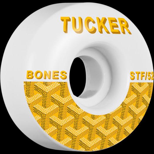 BONES WHEELS STF Pro Tucker Goyard Skateboard Wheels V1 Standard 52mm 4pk