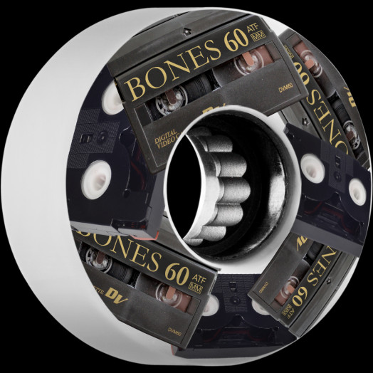 BONES WHEELS ATF Skateboard Wheels Mini DV''s 60mm 80A 4pk