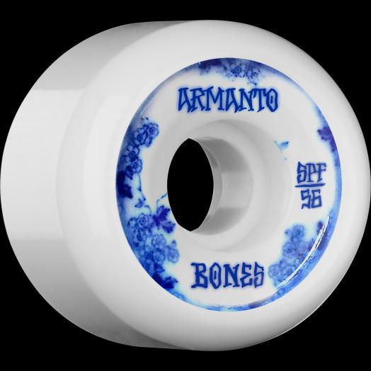 BONES WHEELS SPF Pro Armanto Blue China Skateboard Wheels P5 56mm 104A 4pk