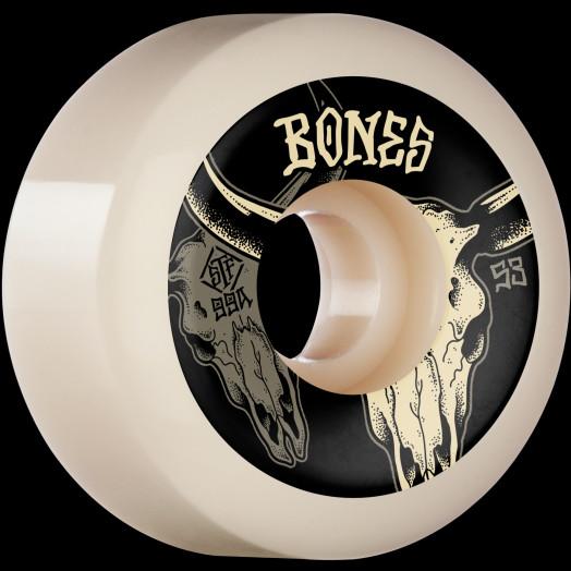 BONES WHEELS STF Formula Skateboard Wheels Desert Horns 53mm V5 Sidecut 99A 4pk