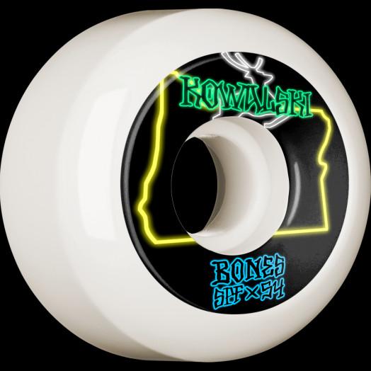 BONES WHEELS PRO SPF Skateboard Wheels Kowalski Homeland 54mm P5 Sidecut 84B 4pk