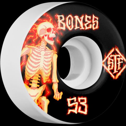 BONES WHEELS STF Blazer Skateboard Wheels V1 53mm 103A 4pk
