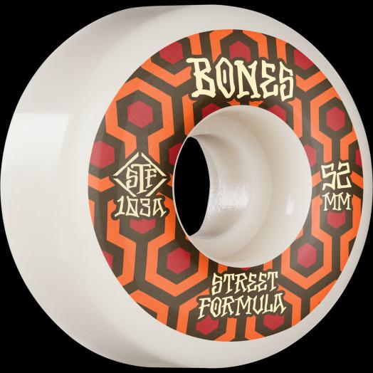 BONES WHEELS STF Skateboard Wheels Retros 52 V1 Standard 103A 4pk