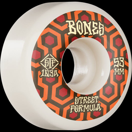 BONES WHEELS STF Skateboard Wheels Retros 53 V1 Standard 103A 4pk