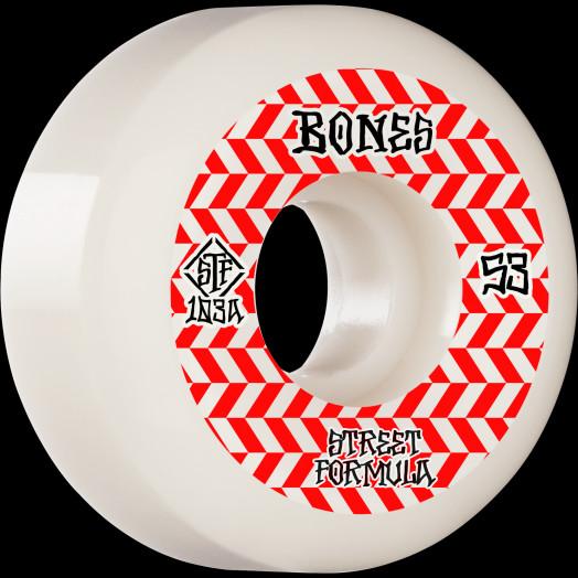 BONES WHEELS STF Skateboard Wheels Patterns 53 V5 Sidecut 103A 4pk