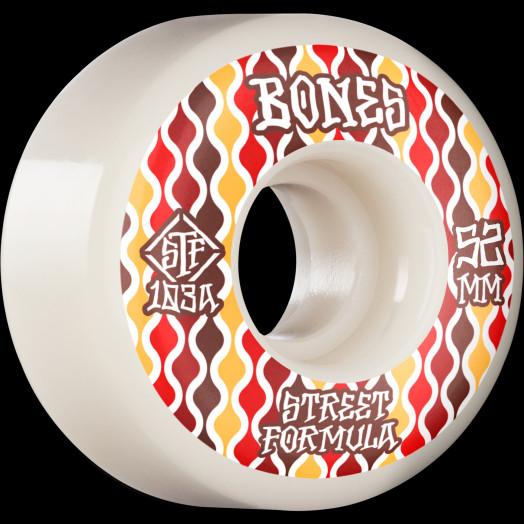 BONES WHEELS STF Skateboard Wheels Retros 52 V2 Locks 103A 4pk