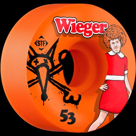 BONES WHEELS STF Pro Wieger Annie 53mm Orange Wheel 4pk