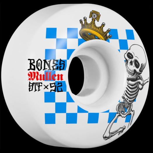 BONES WHEELS STF Pro Mullen Prestige Skateboard Wheels V1 52mm 103A 4pk