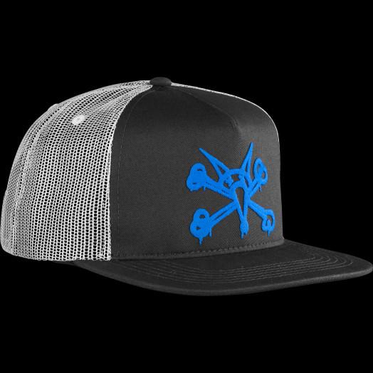 BONES WHEELS Cap Puff Black/Blue