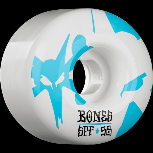 BONES WHEELS SPF Reflections Skateboard Wheels P2 58mm 84B 4pk