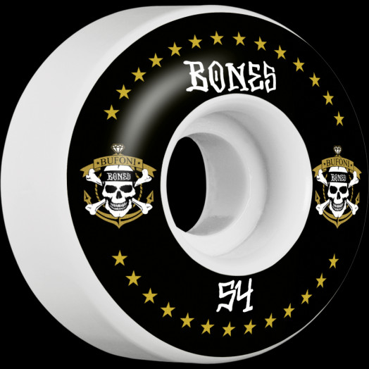 BONES WHEELS STF Pro Bufoni Live 2 Ride Skateboard Wheels V1 54mm 103A 4pk