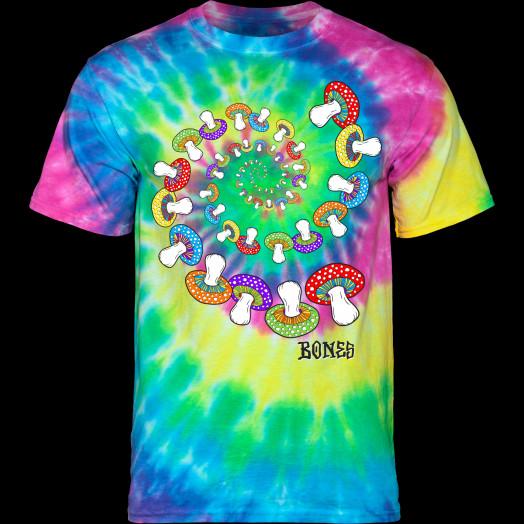 BONES WHEELS Portal Tie Dye T-Shirt