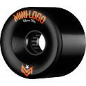 Mini Logo A.W.O.L. Skateboard Wheels A-cut Black 66mm 78A 4pk