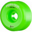 Mini Logo Skateboard Wheels A-cut 55mm 90A Green 4pk