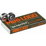 "Mini Logo 8.0"" Rough Polished Trucks + ML Bearings + A-cut 53mm x 101a White Wheels"