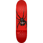 "MINI LOGO POISON ""16"" SKATEBOARD DECK 255 K20 BLACK WIDOW - 7.5 X 30.70"