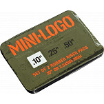 "Mini Logo .10"" Rubber Riser (2 pack)"