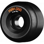 Mini Logo A cut Wheel Black 51mm 101A 4pk