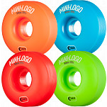 Mini Logo Skateboard Wheels C-cut 54mm 101A Assorted 4pk