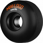 Mini Logo Hybrid Skateboard Wheels C-cut 53mm 90A Black 4pk