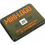 "Mini Logo Riser ""4"" .25"" Single Black"