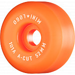 "Mini Logo Skateboard Wheels A-cut ""2"" 52mm 101A Orange 4pk"