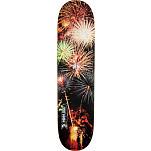 Mini Logo Small Bomb Skateboard Deck 124 Fireworks - 7.5 x 31.375